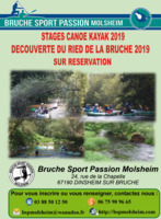 Stages de canoë kayak