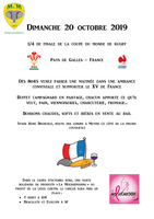 Retransmission de la coupe du monde de rugby
