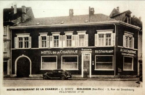 rue de strasbourg et place de l 39 h tel de ville molsheim. Black Bedroom Furniture Sets. Home Design Ideas