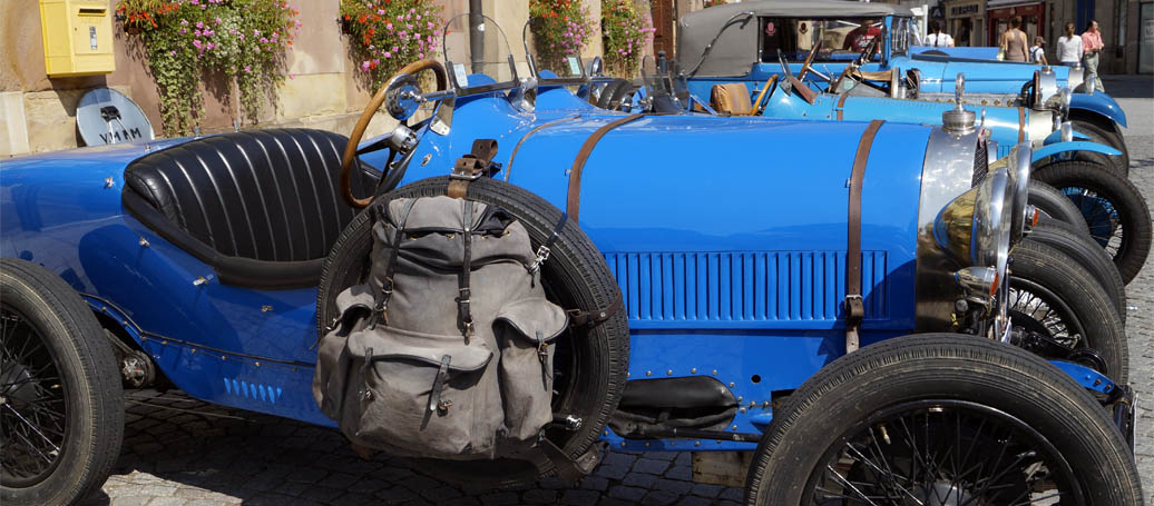 Le musée Bugatti de Molsheim